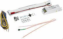 Kit d'éclairage d'urgence, 38 W, Dim. 150
