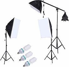 Kit d'eclairage photo de photographie