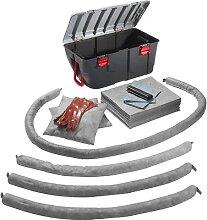 Kit d'urgence anti-fuites dans une malle en