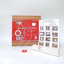 Kit de fabrication d'abat-jour 15 cm pour