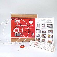 Kit de fabrication d'abat-jour 35 cm pour