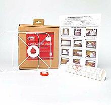 Kit de fabrication d'abat-jour carré arrondi