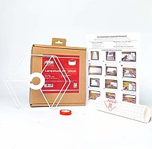 Kit de fabrication d'abat-jour hexagonal de 20