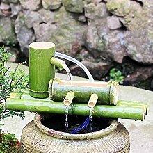 Kit de Fontaine en Bambou Fontaine à Eau Basse en