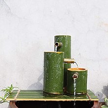 Kit de Fontaine en Bambou Statue de Fontaine en