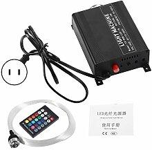 Kit de lumières à fibre optique 16W RGBW LED