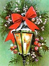 Kit de Peinture en Diamant 5D(Lampe fleur 50x70cm)