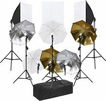 Kit de studio photo avec éclairage et bo?tes à