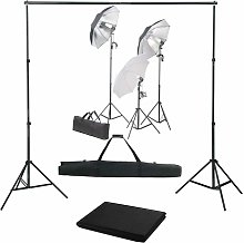 Kit de studio photo avec ensemble d'éclairage