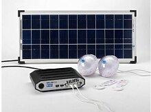 Kit eclairage solaire HUBI 10000 PLUS
