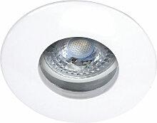 Kit Encastre IP65 HIDRO blanc avec lampe GU5,3 LED