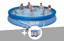 Kit piscine autoportée easy set 4,57 x 0,84 m + 6