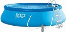 Kit piscine autoportée intex easy set 4,57 x 1,07