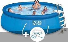 Kit piscine autoportée Intex Easy Set 4,57 x 1,22