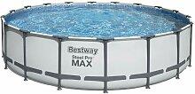 Kit piscine Bestway STEEL PRO MAX ronde
