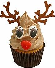 Kit pour confectionner 24 rennes de Noël incluant