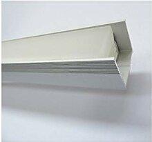 Kit profilé à encastrer aluminium longueur 2m