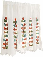 Kitchen Curtains Rideau Brise-bise Rideau Voilage