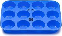 Kitchen Helpis® Moule à Muffins et Cupcakes, Lot