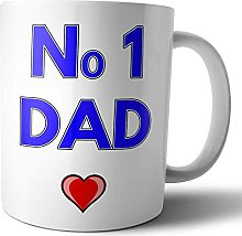Kitchen Home Mug Numéro 1 Dad Tasse à thé/café
