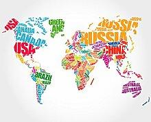 Kits de point de croix Série 2 Carte du monde 14