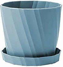 KJFUN Flower Pot 1 Piece Thicken Plastic Home