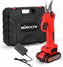 KKmoon 21V 30mm secateur electrique 88VF jardinage