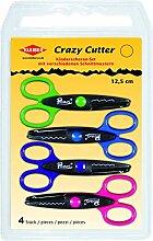Kleiber Ciseaux pour Enfants Crazy Cutter - Pack