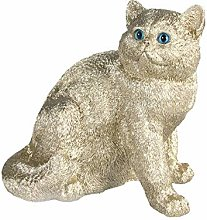 &Klevering Statue - Tirelire Chat - Exotic
