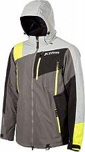 Klim Storm S20 veste textile male    - Gris/Jaune