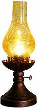 KMYX Lampe de Table Vintage Classique Kérosène