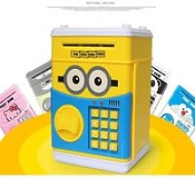 KN12483-Tirelire Banque ATM Mot de Passe
