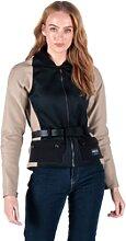 Knox Zephyr Pro, femmes de veste textile - Noir - M