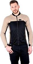 Knox Zephyr Pro, veste textile - Noir/Marron Clair