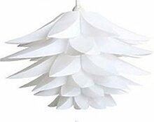 KOET Abat-jour Lotu en forme de fleur pour salon,