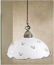 Kolarz - Suspension NONNA laiton antique 1 ampoule
