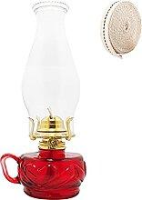 KOLIT Lanterne à Huile en Verre Hauteur 31 cm