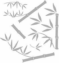 Komar 16001 Sticker Fenêtre, Bambou