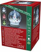 Konstsmide 3407-000 Boule de Verre à LED,