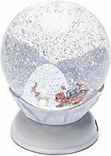 Konstsmide Lanterne Boule à Neige LED Père Noël