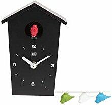 KOOKOO Birdhouse Mini Noir, Petite Coucou Moderne