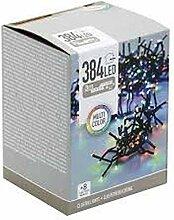 KOOPMAN Guirlande Lumineuse 384 LED Multicolore