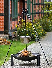 KORONO ® Set – Barbecue suspendu 180 cm,