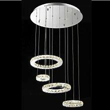 Kosilum - Lustre design cristal LED Goya - 60cm -