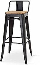 Kosmi - Chaise de Bar, Tabouret Moyen Style