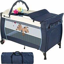 Kosoree Lit bébé Pliant avec Accessoires lit de