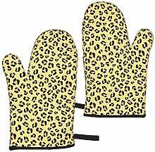 Kotdeqay Accessoires de Cuisine léopard isolants