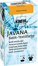 KREUL Peinture pour Textile Javana Happy Orange