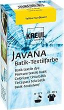 KREUL Peinture pour Textile Javana Yellow Sunflower