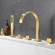 Kroos - Mélangeur bain douche sur plage doré